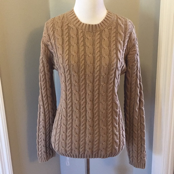 Eddie Bauer Sweaters Cable Knit Sweater Poshmark